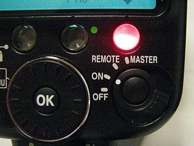 SB-900のリモート発光への切替