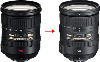 AF-S DX NIKKOR 18-200mm F3.5-5.6G ED VR IIの変化
